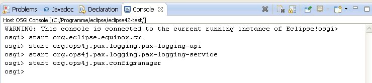 SLF4J Logging in Eclipse Plugins