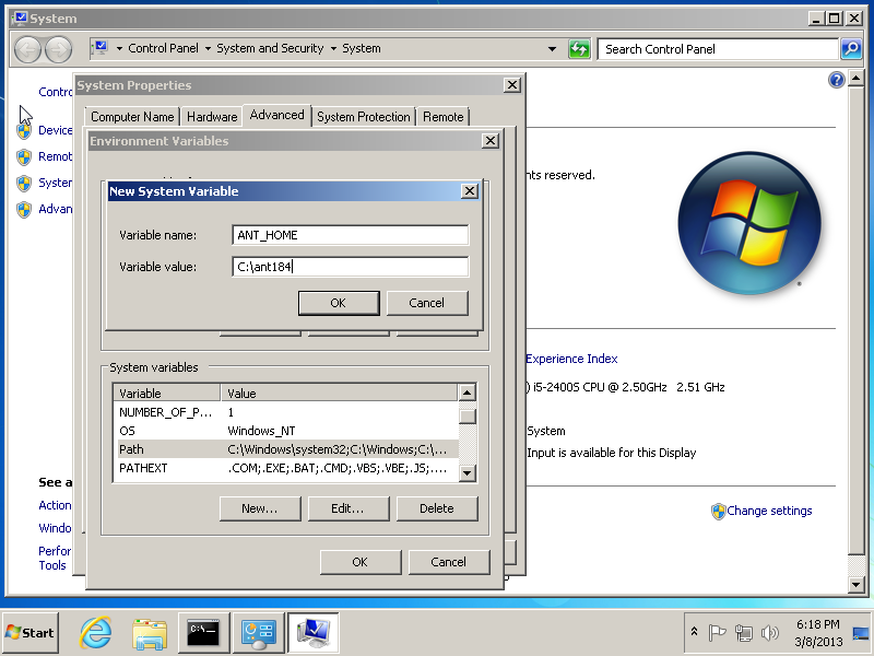 64 bit java software  windows 7
