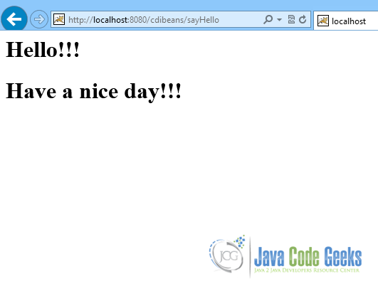 Java EE CDI Producer methods tutorial