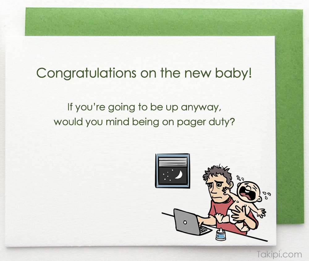 Card - new baby