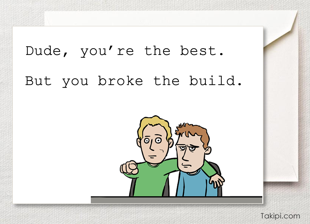 Card - Dude, you're the best