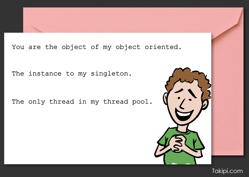 Card - you are the object of my object oriented