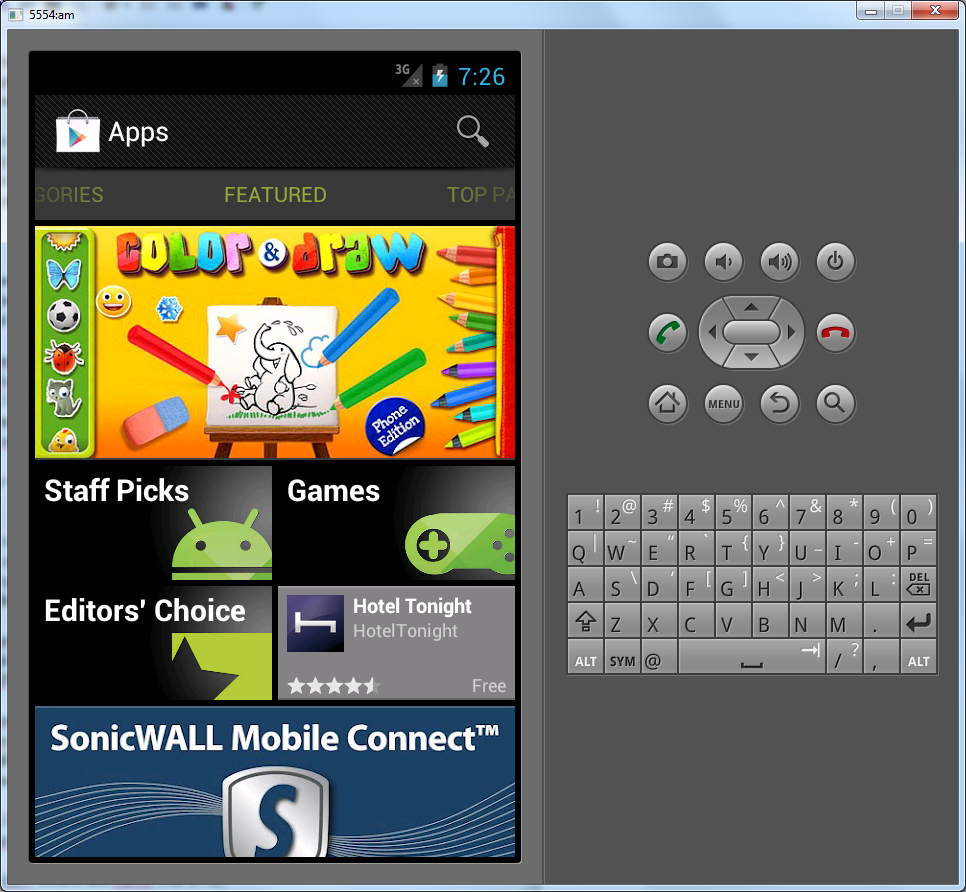Installing Google Play on Android Emulator