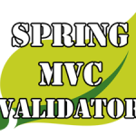 Spring-mvc-validation