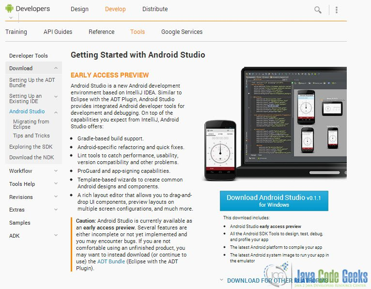 Android Studio Tutorial: Getting started with the new Android IDE