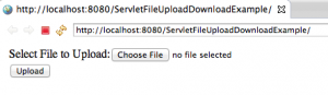 Servlet-File-Upload-Form