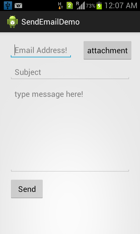Send Email with Attachment in Android | Java Code Geeks - 2019