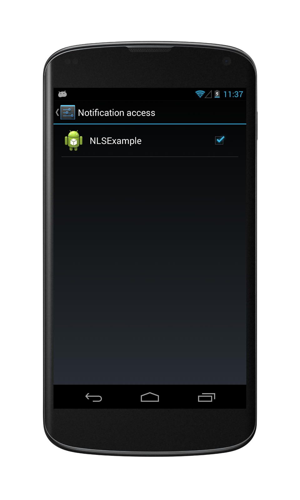 Android Notificationlistenerservice Example 推酷
