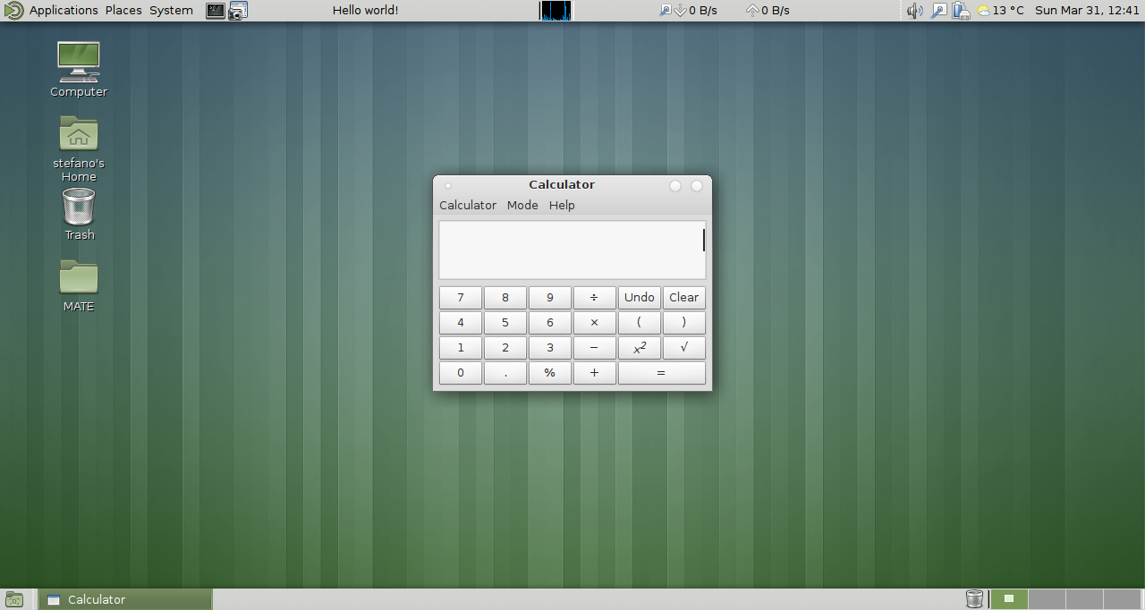 5 most awesome desktop environments for ubuntu mate calc