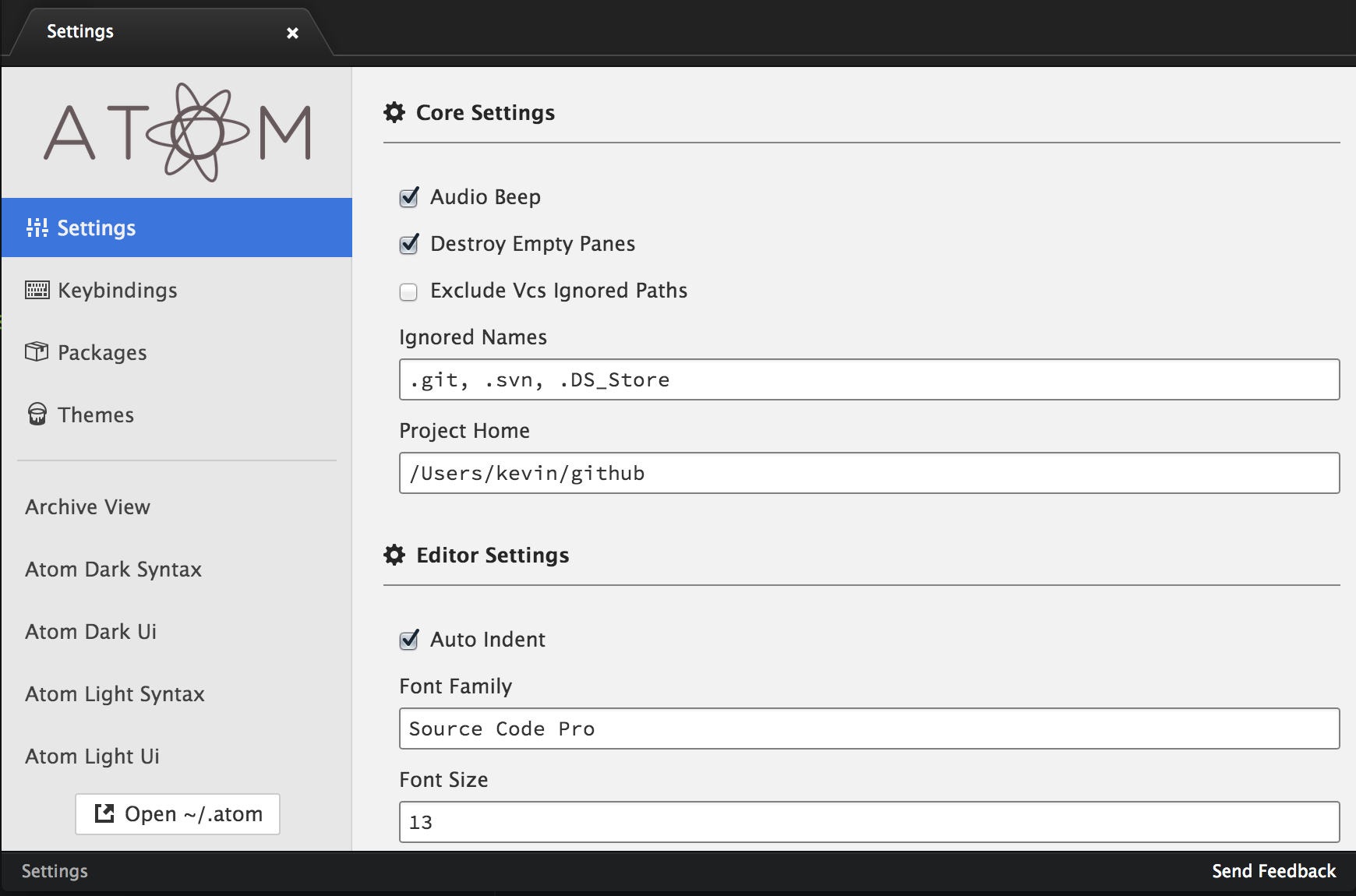 Atom, Hackable Text Editor By GitHub