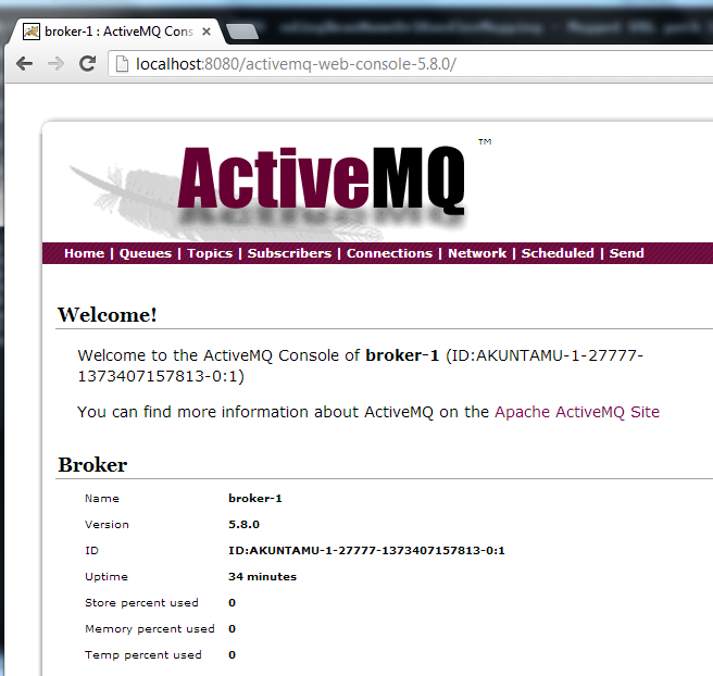 Using ActiveMQ -