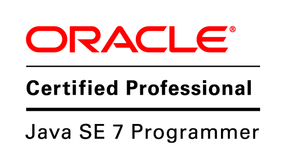 Oracle Certified Professional Java SE 7 Programmer logo