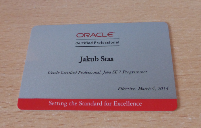 Oracle Certified Associate And Professional Java Se 7 Programmer