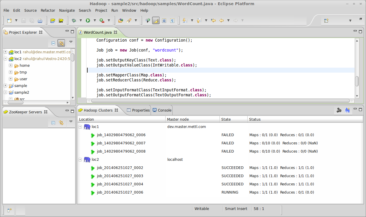 Introducing hadoop development tools a grab of how the perspective looks like baditri Image collections