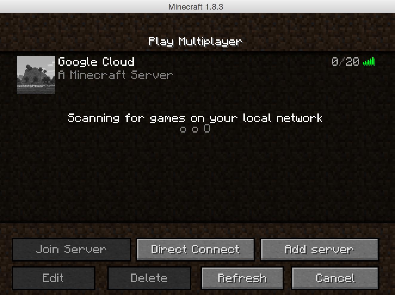 Minecraft Server on Google Cloud | Java Code Geeks - 2019