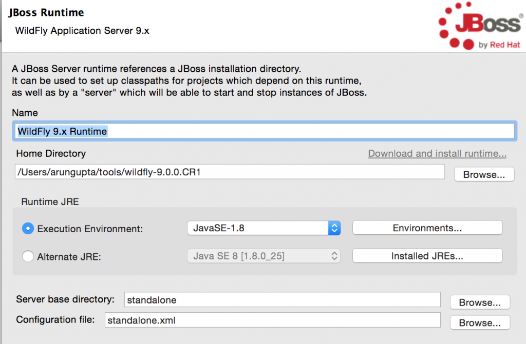 WildFly 9 on NetBeans, Eclipse, IntelliJ, OpenShift, and