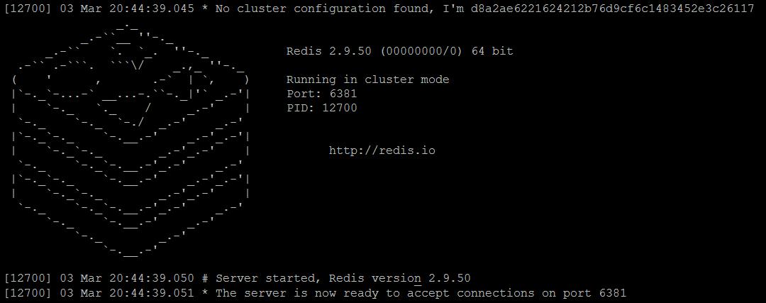 install redis cluster mac