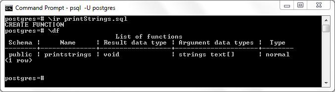 Passing Arrays to a PostgreSQL PL/pgSQL Function | Java Code Geeks
