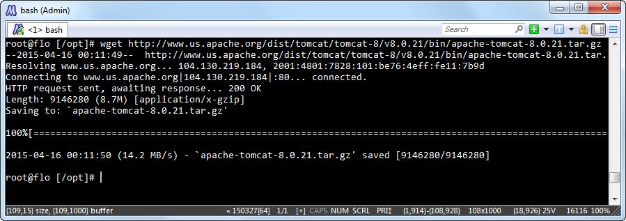tomcat 8.0.21