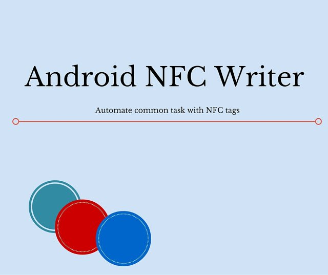 How to write NFC tag in Android | Java Code Geeks - 2019