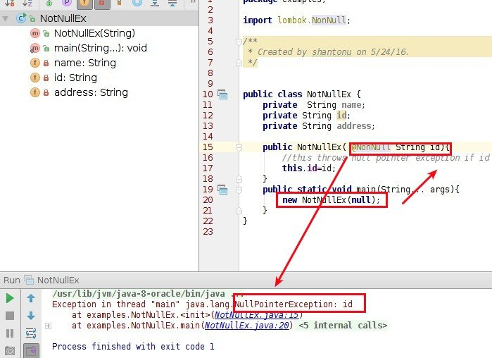 Lombok, a compile time Java annotation preprocessor to