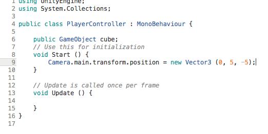 Controlling Unity3D Using C#, Part 2 | Java Code Geeks - 2019