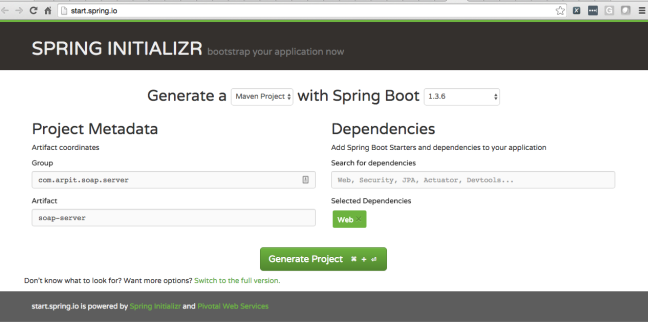 Writing and Consuming SOAP Webservice with Spring | Java