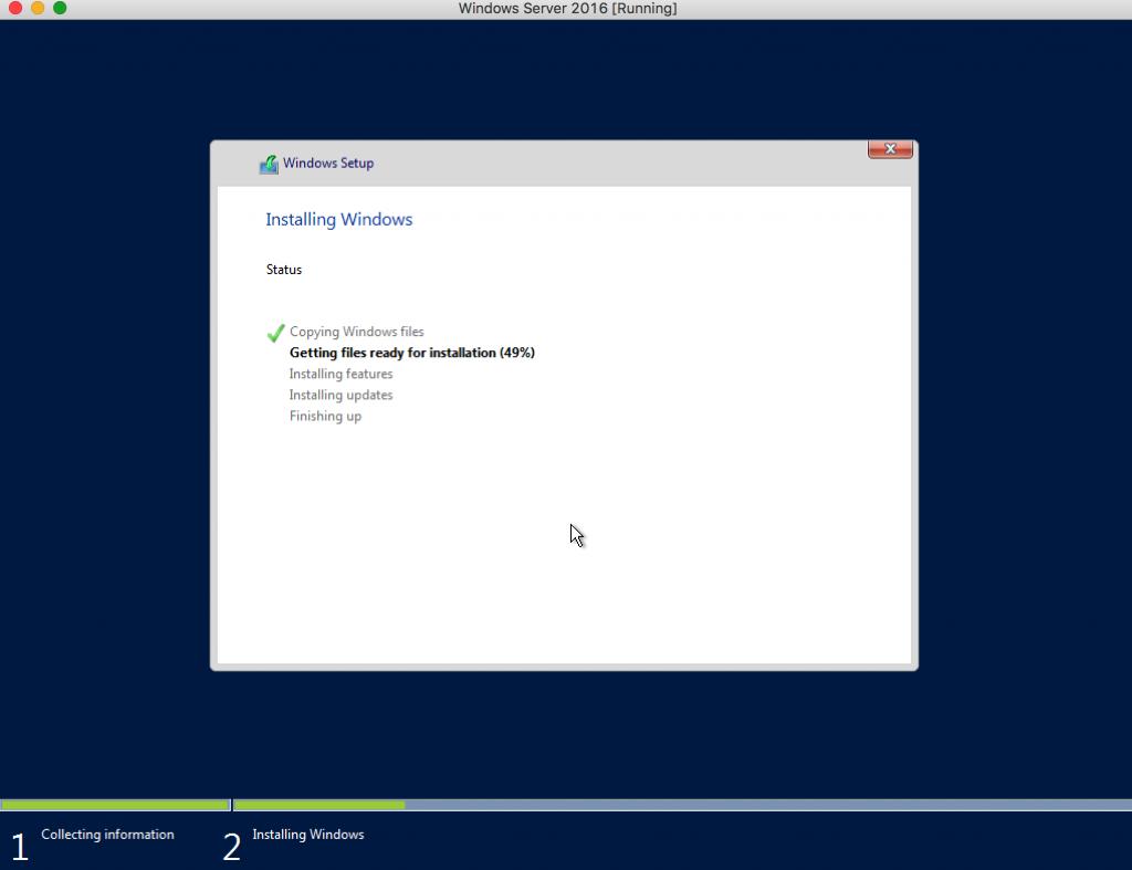 Windows Server 2016 Using VirtualBox – Getting Ready for