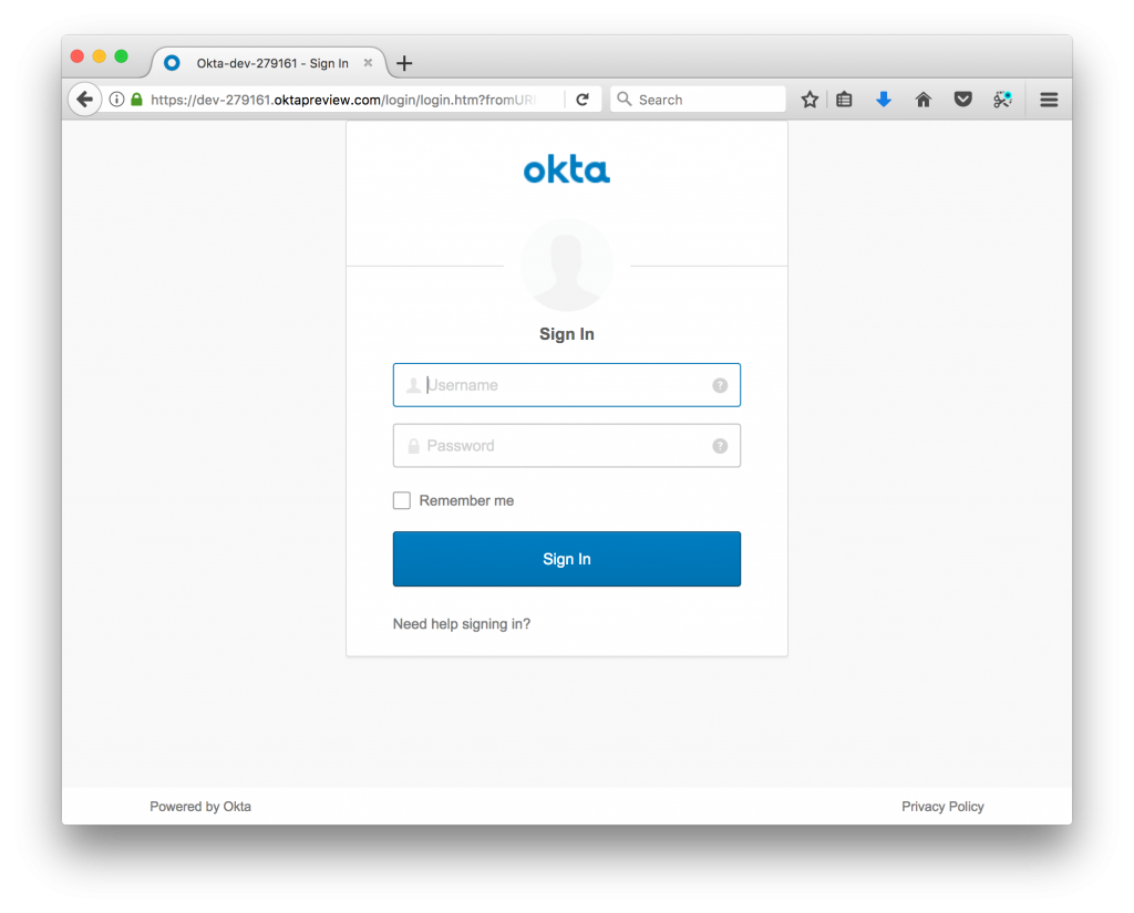 Secure Your Spring Boot Web App with Single Sign-on from Okta | Java