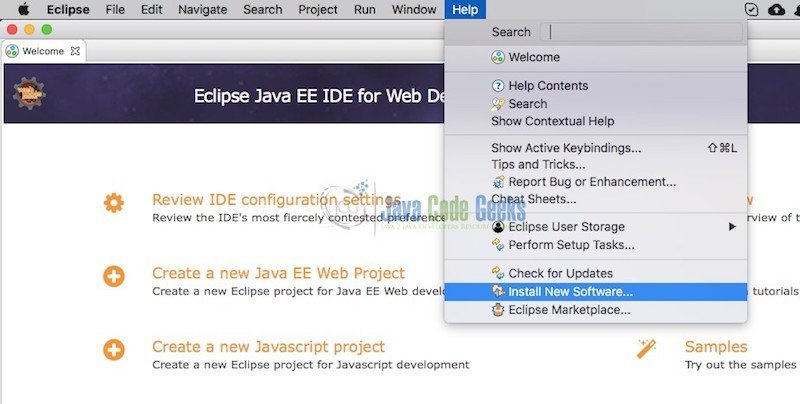 Git version control with Eclipse (EGit) Tutorial