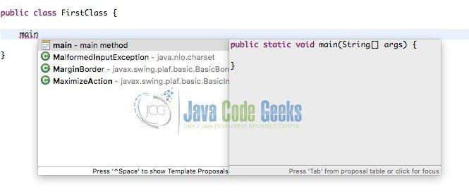 Eclipse IDE Tutorial   Java Code Geeks - 2018