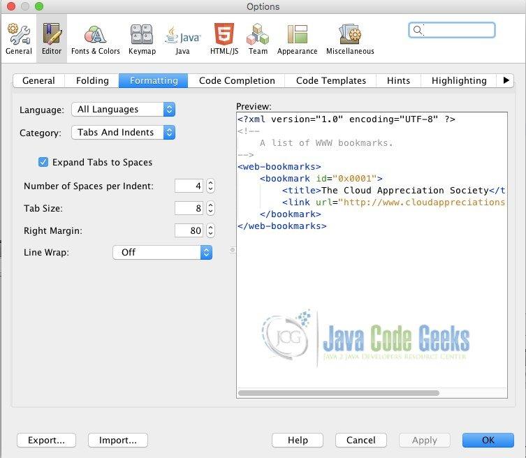 NetBeans IDE Tutorial | Java Code Geeks - 2019