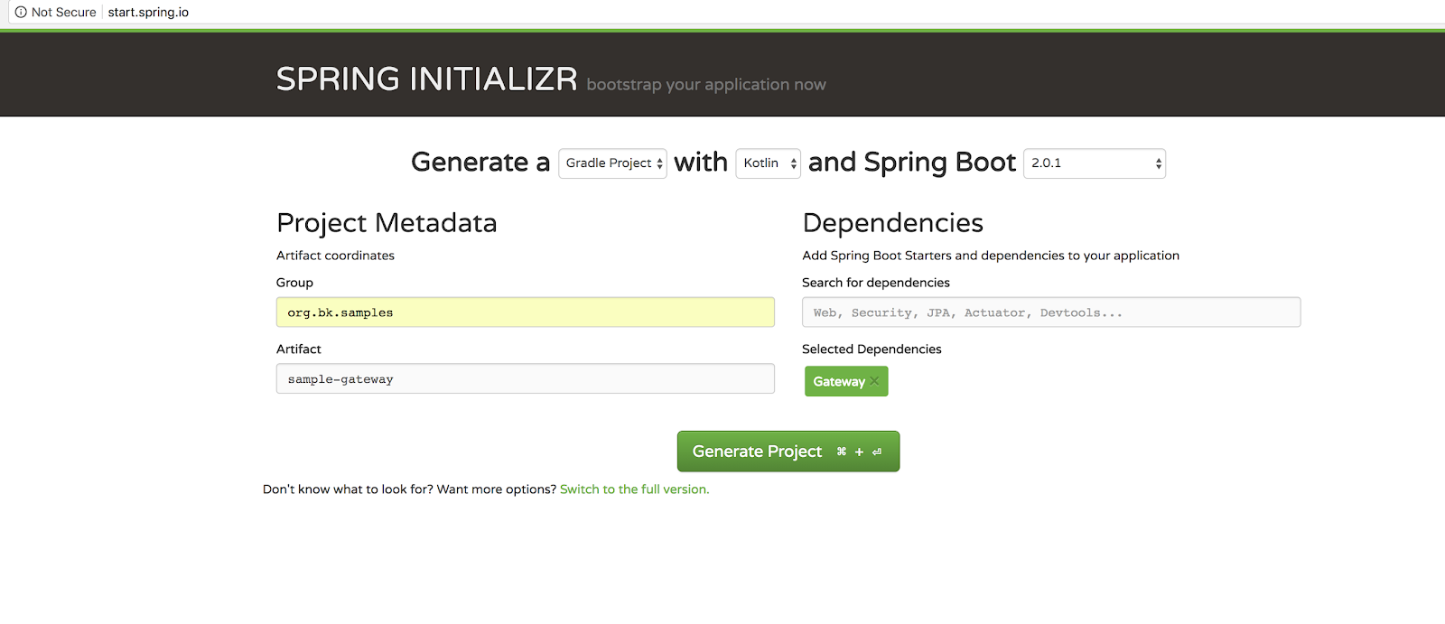 Spring Cloud Gateway - Configuring a simple route   Java Code Geeks