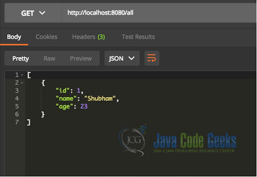 Spring Boot Tutorial | Java Code Geeks - 2019