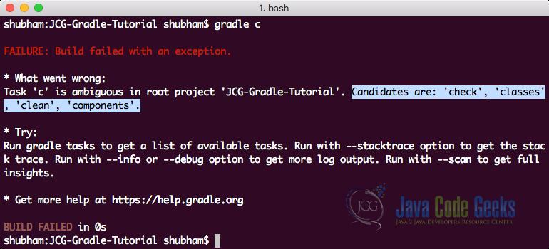 Gradle Tutorial   Java Code Geeks - 2019