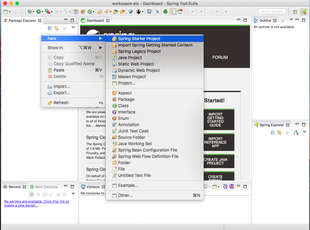 How to Create Spring Boot Project in STS | Java Code Geeks