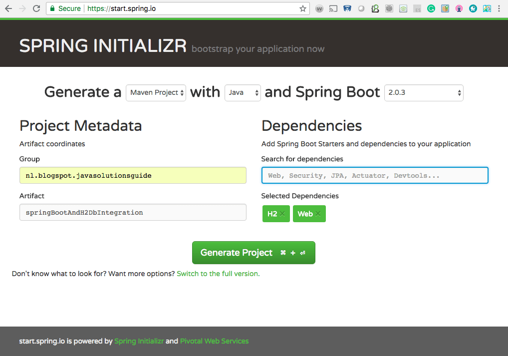 How to Integrate H2 database in Spring Boot App | Java Code Geeks - 2019