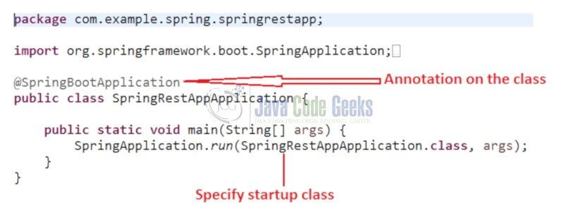 Spring Data JPA - Boot-up class