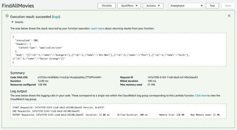 Build a RESTful API in Go using AWS Lambda | Java Code Geeks