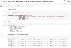 Apache Kafka & KSQL & TensorFlow for Data Scientists via Python