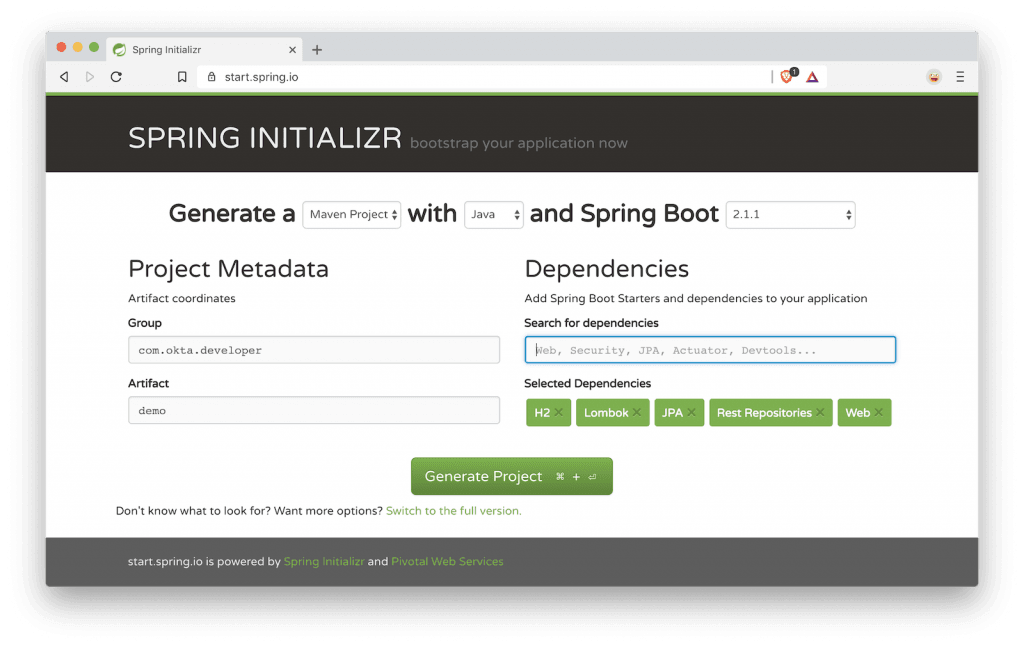 Bootiful Development with Spring Boot and Vue | Java Code