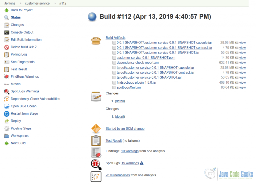 Microservices for Java Developers: Continuous Integration and