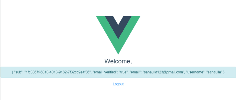 Integrating Amazon Cognito With Single Page Application (Vue