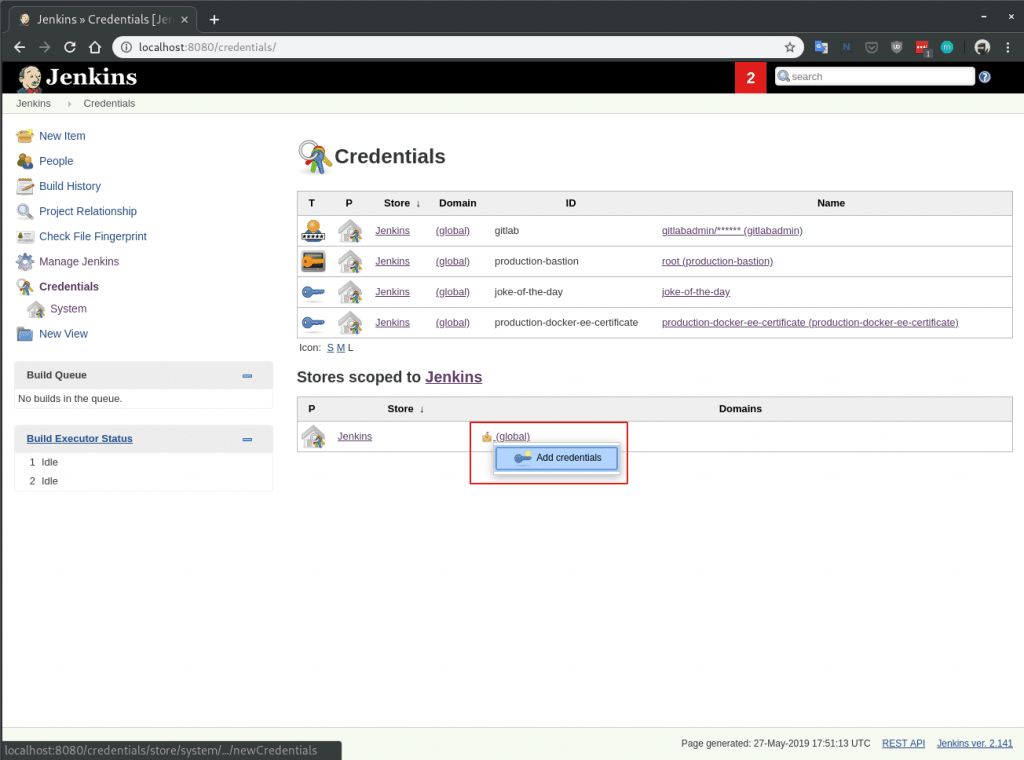 Accessing and dumping Jenkins credentials   Java Code Geeks