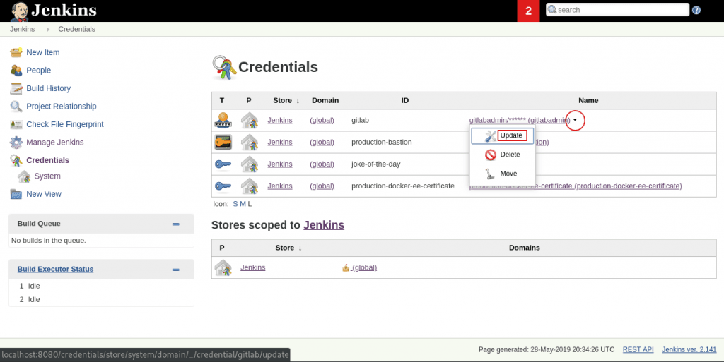 Accessing and dumping Jenkins credentials | Java Code Geeks